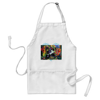 Franz Marc - Abstract with cattle Standard Apron