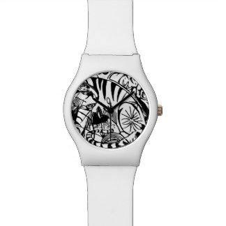 Franz Marc - Black and White Tiger Wristwatches