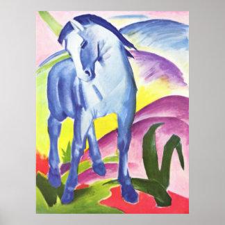 Franz Marc - Blue Horse I 1911 Equine Equestrian Poster