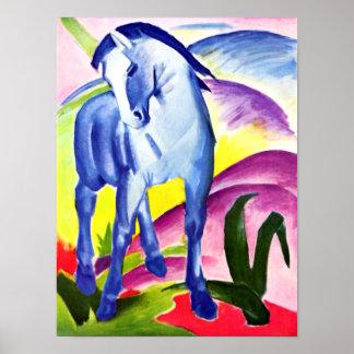 Franz Marc - Blue Horse I Poster