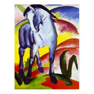 Franz Marc Blue Horse Postcard