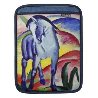 Franz Marc Blue Horse Vintage Fine Art Painting iPad Sleeve