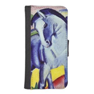 Franz Marc Blue Horse Vintage Fine Art Painting iPhone SE/5/5s Wallet Case