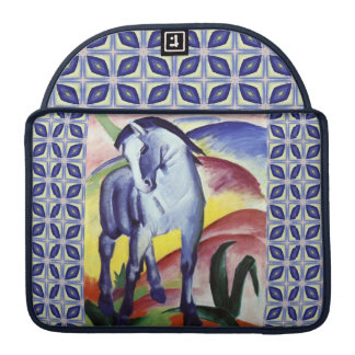 Franz Marc Blue Horse Vintage Fine Art Painting Sleeve For MacBooks