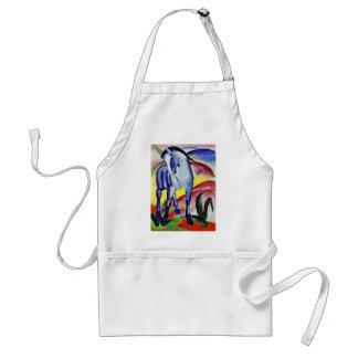Franz Marc Blue Horse Vintage Fine Art Painting Standard Apron