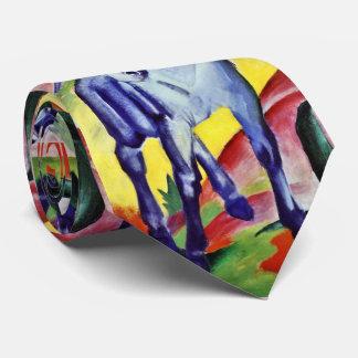 Franz Marc Blue Horse Vintage Fine Art Painting Tie