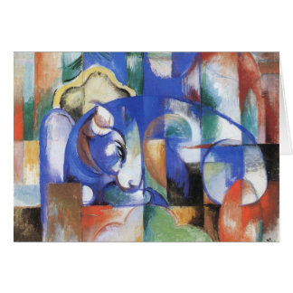 Franz Marc - Bull Greeting Cards