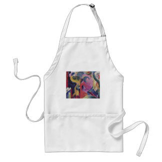 Franz Marc - Composition III 1914 Canvas Abstract Standard Apron