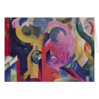 Franz Marc - Composition III Note Card