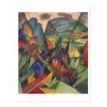 Franz Marc - Foxes 1913 Oil Canvas Red Fox Sly