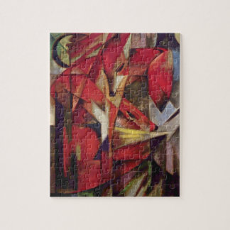 Franz Marc - Foxes Jigsaw Puzzle