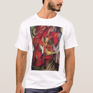 Franz Marc - Foxes T-Shirt