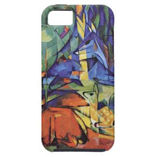 Franz Marc - German Expressionist Art - Roe Deer iPhone 5 Cases