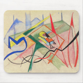 Franz Marc - Small mythical creatures Mouse Pads