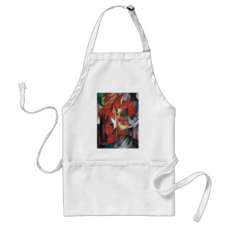 Franz Marc - The Foxes, 1913 Standard Apron