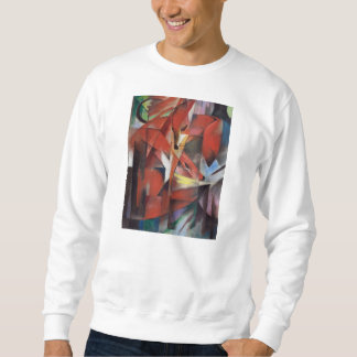 Franz Marc - The Foxes, 1913 Sweatshirt