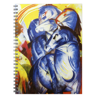 Franz Marc The Tower of Blue Horses Notebook