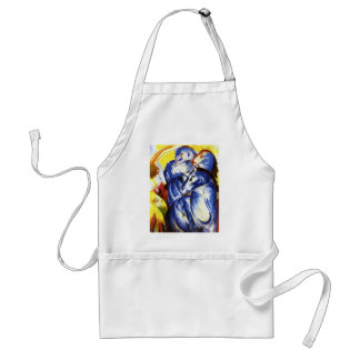 Franz Marc The Tower of Blue Horses Standard Apron