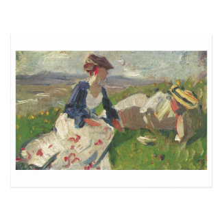 Franz Marc - Two Women on Mountain 1906 Female Postcard