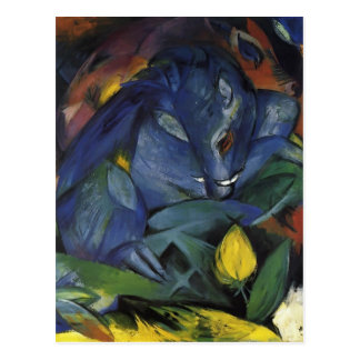 Franz Marc- Wild Pigs (Boar and sow) Postcard
