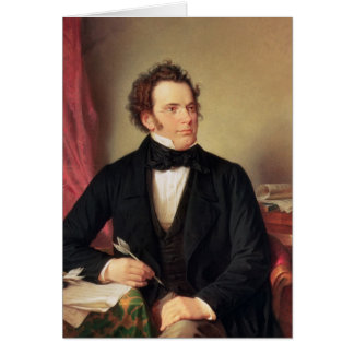 Franz Peter Schubert Card