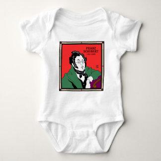 Franz Schubert Baby Bodysuit