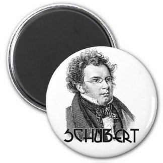 Franz Schubert Fridge Magnet