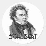 Franz Schubert Stickers