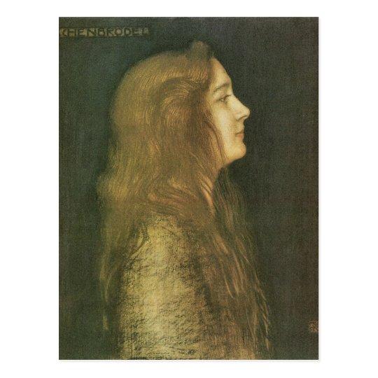 Franz von Stuck - Cinderella Postcard