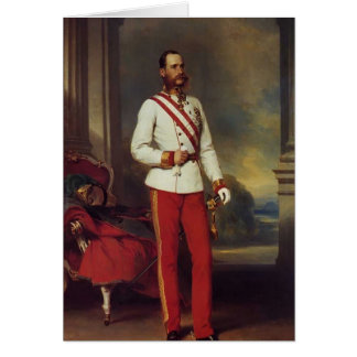 Franz Winterhalter-Austrian Emperor & Maria Teresa Cards