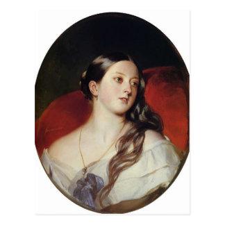Franz Xaver Winterhalter- Queen Victoria Postcard