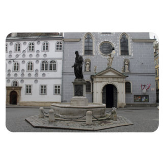 Franziskanerplatz Vienna Austria Rectangular Magnets