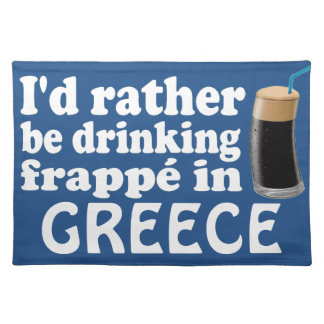 Frappé in Greece Placemat