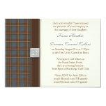 Fraser Ancient Hunting Tartan Wedding Invitation 13 Cm X 18 Cm Invitation Card