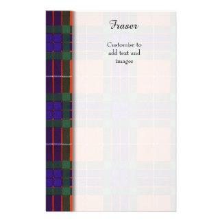Fraser clan Plaid Scottish tartan 14 Cm X 21.5 Cm Flyer