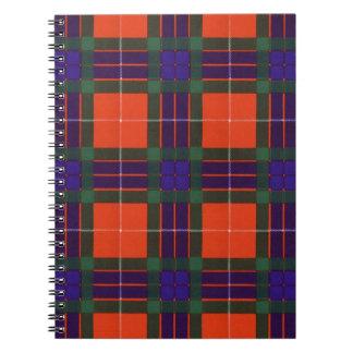 Fraser clan Plaid Scottish tartan Notebook