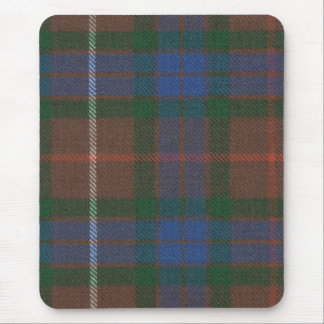 Fraser Hunting Ancient Tartan Mousepad