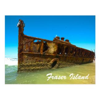 fraser island, Australia Postcard