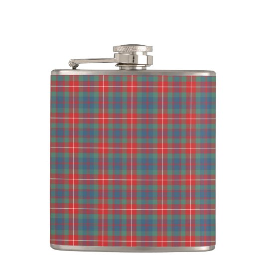 Fraser of Lovat Blue and Coral Ancient Tartan