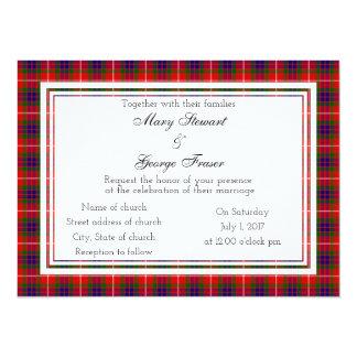 Fraser Scottish Wedding Invitation