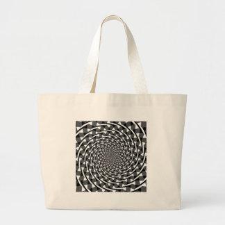 Fraser spiral illusion jumbo tote bag