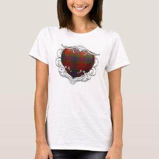 Fraser Tartan Heart T-Shirt