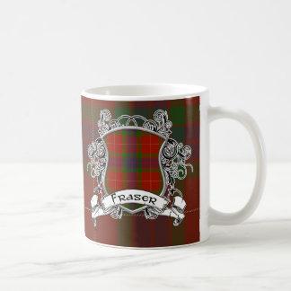 Fraser Tartan Shield Coffee Mug