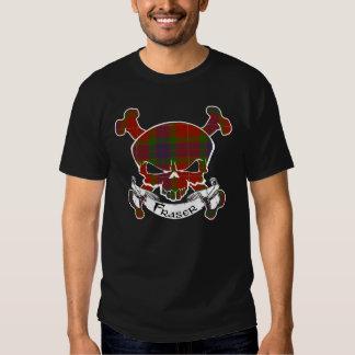 Fraser Tartan Skull Shirt