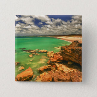 Frasers Beach | Tasmania 15 Cm Square Badge