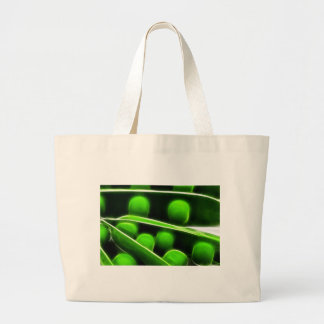 Fratcalius Peas Large Tote Bag