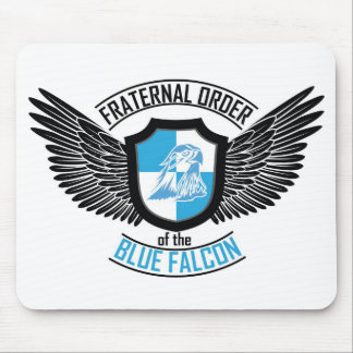 Fraternal Order of The Blue Falcon, Blue Falcon Mouse Mat