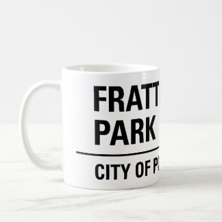 Fratton Park Portsmouth Road Sign Coffee Mug