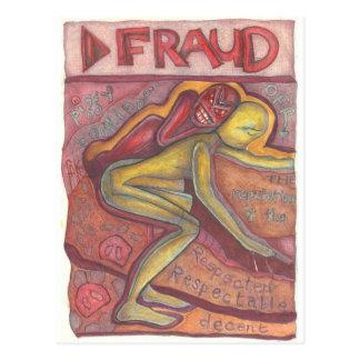Fraud Postcard