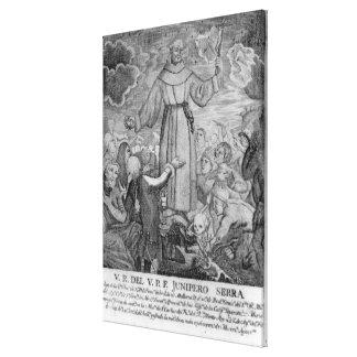 Fray Junipero Serra Canvas Print